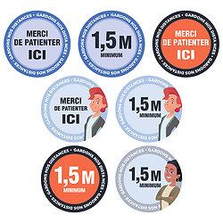 Stickers  pour SOL de type MOQUETTE