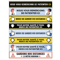 Balisage Stickers pour SOL LISSE