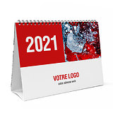 Calendrier chevalet A5 personnalisable