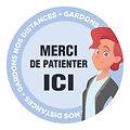"""Stickers """"distanciation"""" (copy)"""