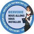 Stickers accueil HoReCa
