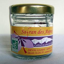 Safran des Aspres 0.5 grammes