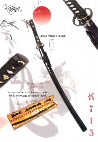 Katana Maru Noir + Set + B/Bois