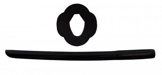 Kodachi/Shoto laqué noir