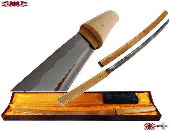 Shirasaya bois naturel