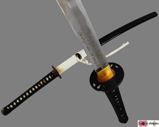 Katana Kill Bill - sabre de Budd
