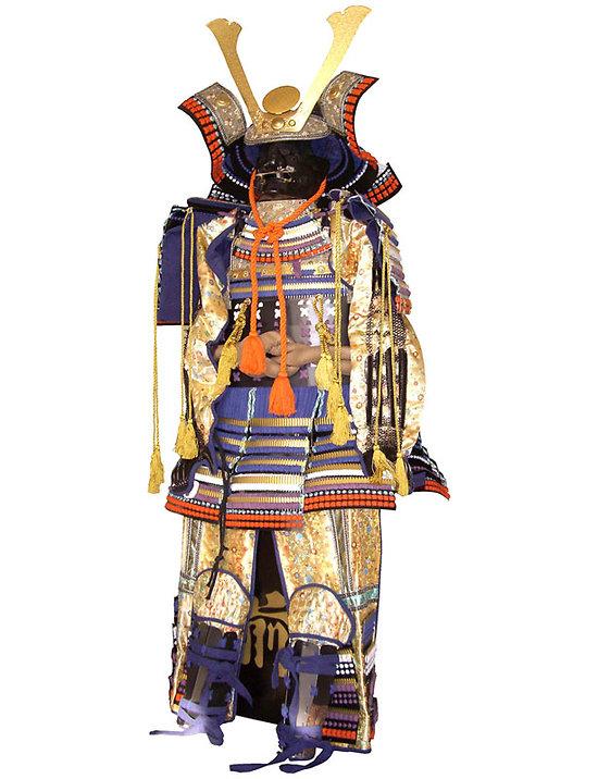Armure samourai beige