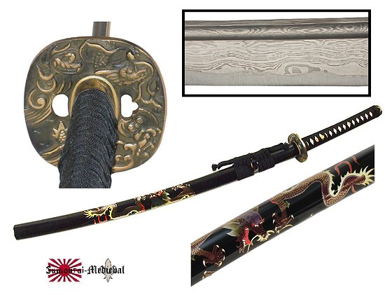 Katana Damas Dragon