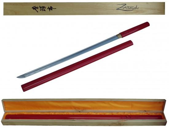 Shikomizue de Zatoichi - rouge