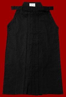 Hakama noir.