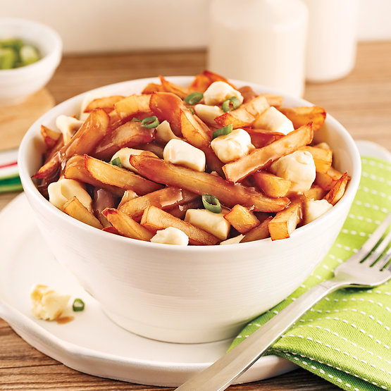 Poutine, beans, spices