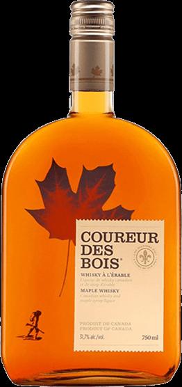 Whisky canadien à l'érable - Coureur des bois
