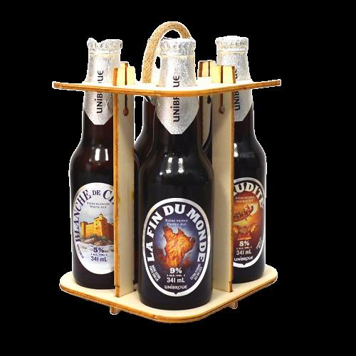 Coffret 4 bières canadienne - Unibroue