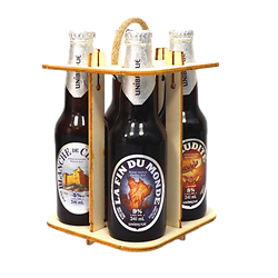 Canadian beer box - Unibroue