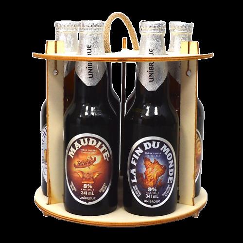 Coffret 6 bières canadienne - Unibroue