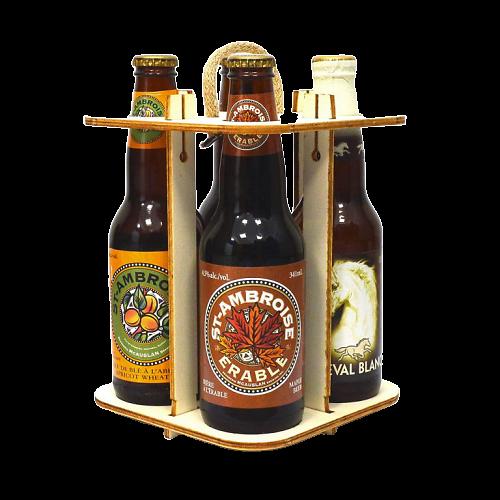 Coffret 4 bières canadienne - Saint Ambroise
