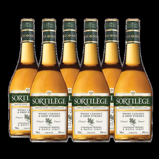 Liqueurs de whisky au sirop d'érable - Sortilège Original