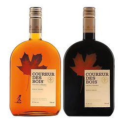 Whiskey and maple syrup duo - Coureur des bois
