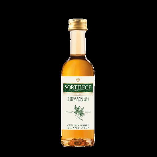 Sortilège - Mignonnette de liqueur de whisky à l'érable