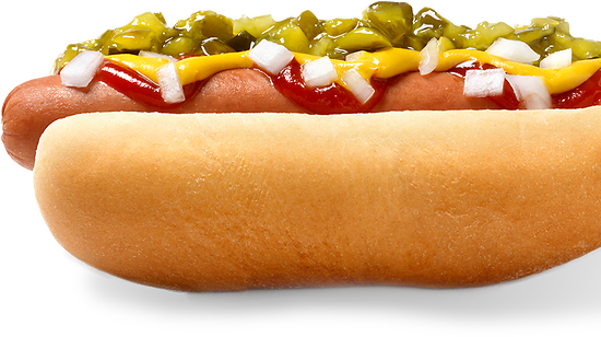 Le Hot-dog Canadien au sirop d'érable