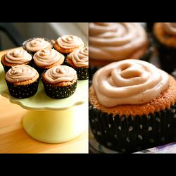 Cupcake au sirop d'érable