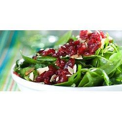 Salade d'épinards aux canneberges séchées à l'érable