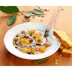 La Sagamité Huronne-Recette de soupe Amérindienne