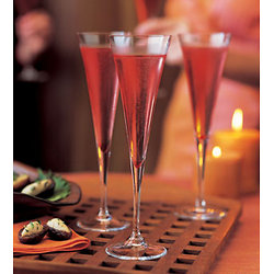 Cranberry kir royal
