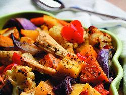 Légumes grillés au sirop d érable