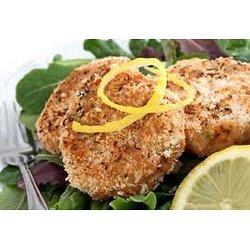 Croquette de saumon à l'érable