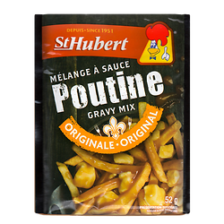 Poutine sauce mix st hubert