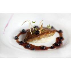 Escalope de foie gras aux Bleuets sauvages