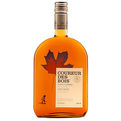 Canadian Whiskey with maple - Coureur des bois