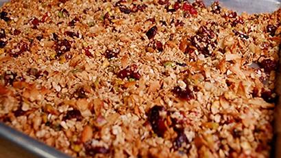 Granola aux Canneberges séchées