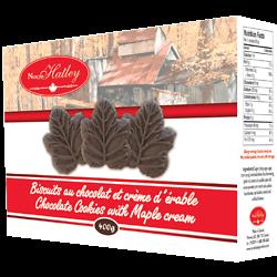 Biscuits au chocolat et crème d'érable