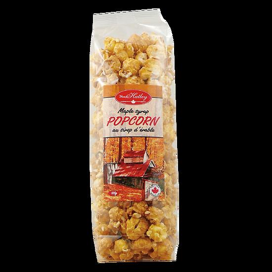 Pop corn au sirop d'érable