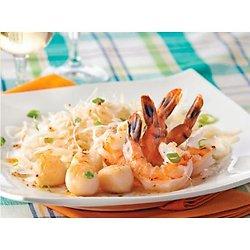 Crevettes et pétoncles à la vinaigrette à l'érable