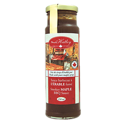 Barbecue sauce with smoked maple