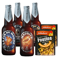 Poutine Kit - Poutine Sauce & Canadian Beer Mix