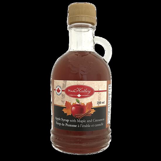 Sirop de Pomme à l'érable et cannelle