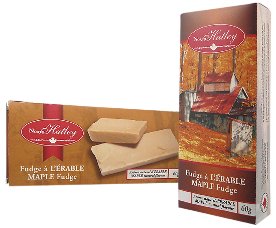 Fudge à l'érable