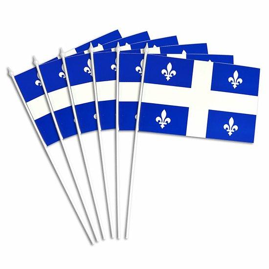 Drapeau de Table du Québec
