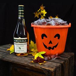 Seau Halloween - Un Sortilège et des Bonbons à l'érable