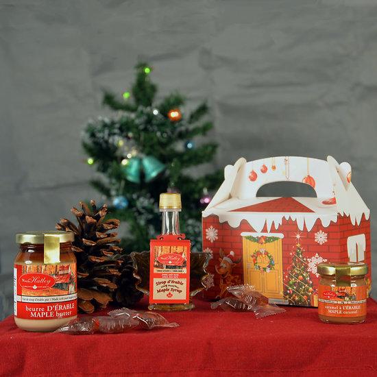 Maisonnette de Noël - Le Trio Gourmand à l'érable