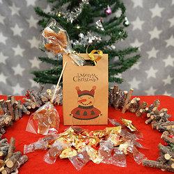 Boîte Papier Kraft Noël - Spécial Confiserie