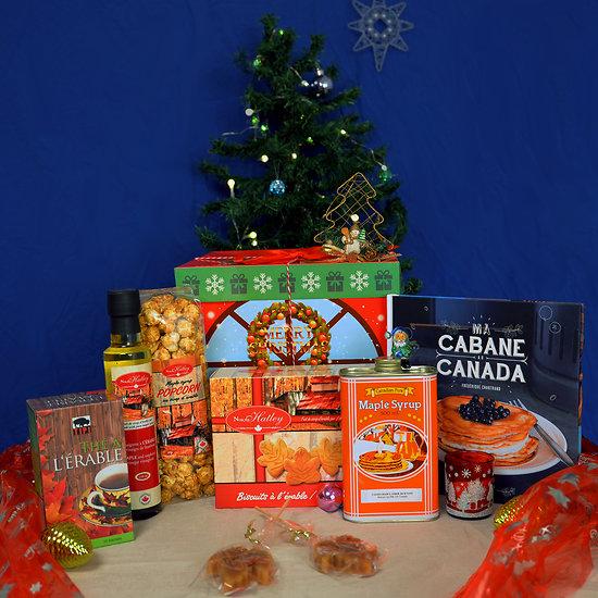 Grande Boîte de Noël - Dégustation Canadienne