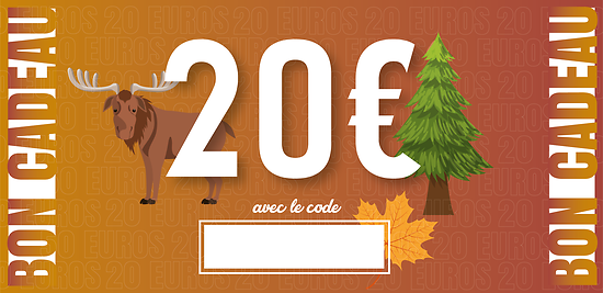 Bon Cadeau - 20 euros