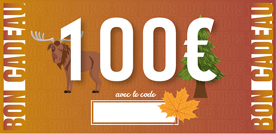 Bon Cadeau - 100 euros