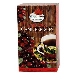 Cranberry herbal tea