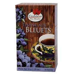 Blueberry herbal tea